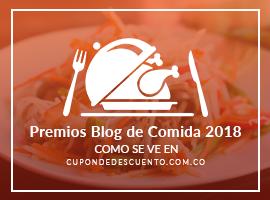 Banners for Premios Blog de comida 2018
